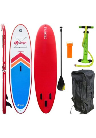 EXPLORER Stand Up Paddle SUP-Board »Stream 10.2...