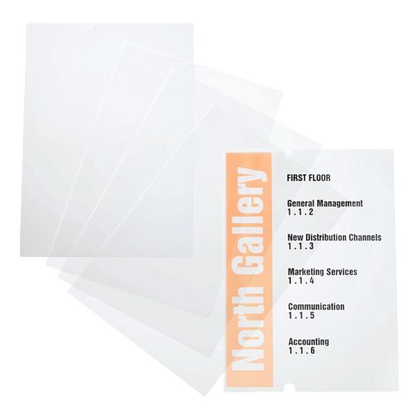 Durable Ersatzfolien für Türschilder »483519«