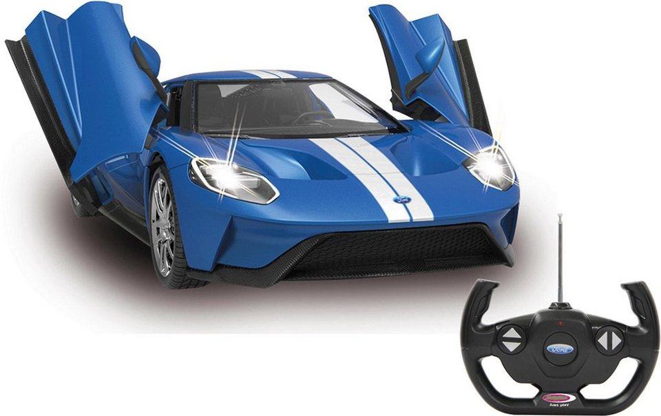 JAMARA RC Fahrzeug,  Ford GT, 1:14, 27 MHz, blau