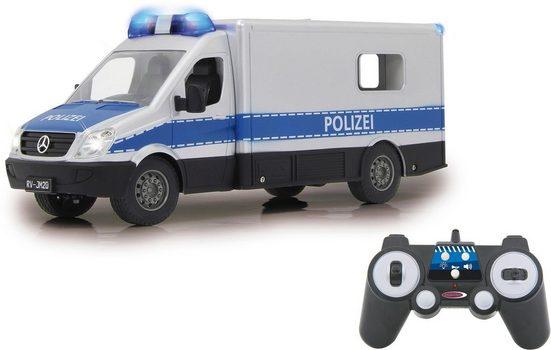 Jamara RC-Auto »Mercedes-Benz Polizei Einsatzwagen«, mit Signalleuchte und LED-Fahrlicht