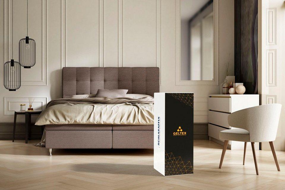 gelschaummatratze geltex quantum 180 schlaraffia 18 cm hoch raumgewicht 45 geltex macht. Black Bedroom Furniture Sets. Home Design Ideas