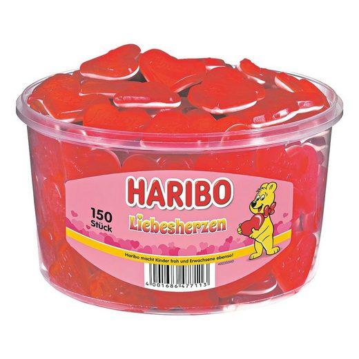 HARIBO Fruchtgummi »Liebesherzen«