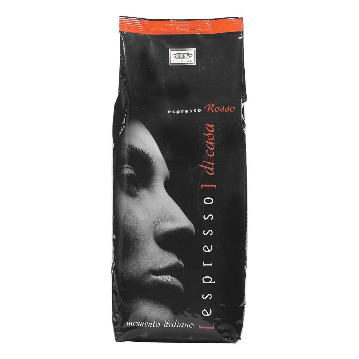 CASA RINALDI Espresso - ganze Bohnen »Rosso«