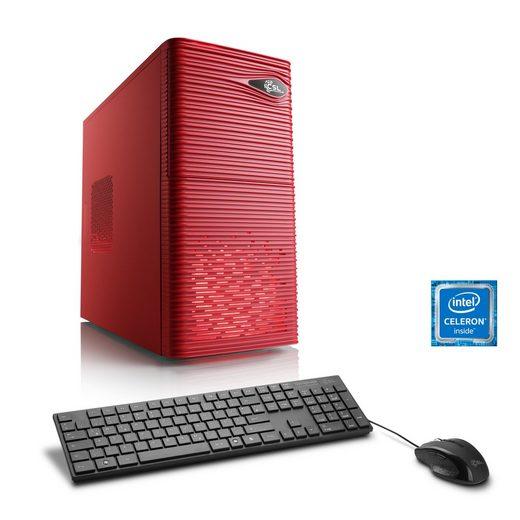 CSL Office PC, Intel QuadCore, Intel HD, 8 GB RAM, 1 TB HDD »Speed T1333 Windows 10 Home«