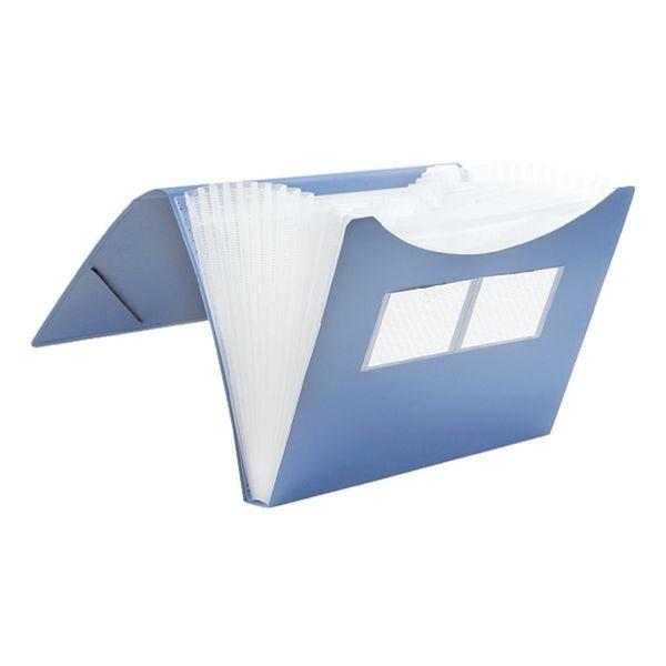 Foldersys Fächermappe in blau