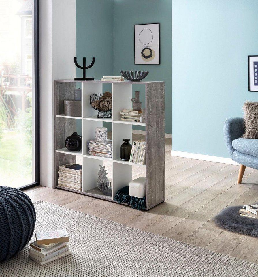 Regal/Raumteiler »Kaba«, 9 offene Fächer online kaufen | OTTO