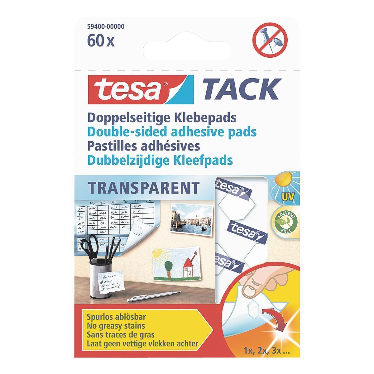 Tesa Doppelseitige Klebepads »Tack«