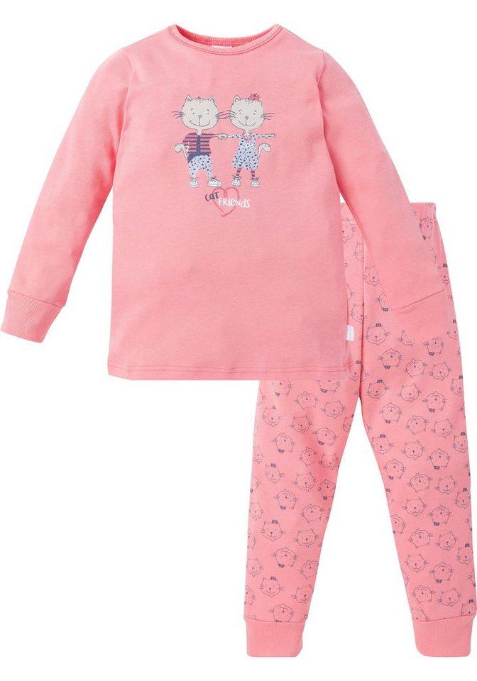 52df3a59e2a1d9 Schiesser Pyjama, in langer Form für Mädchen   OTTO