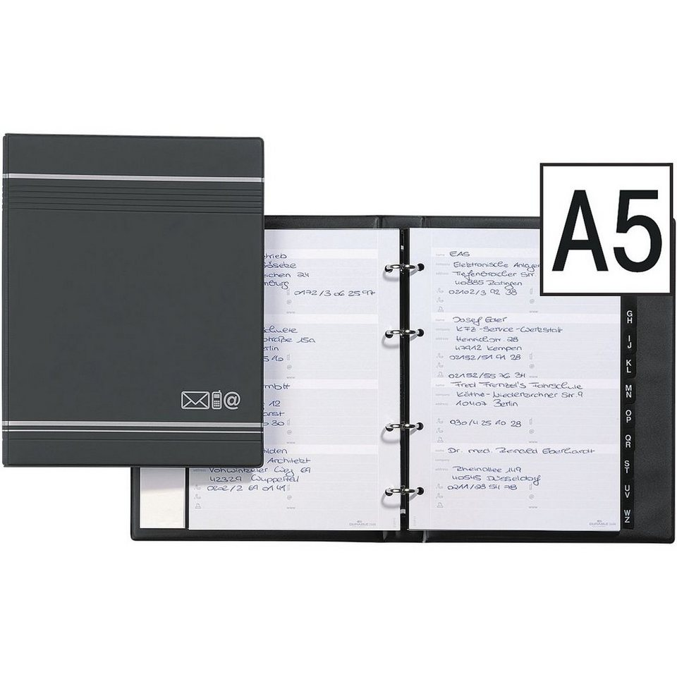 Durable Telefonringbuch »Telindex« in anthrazit