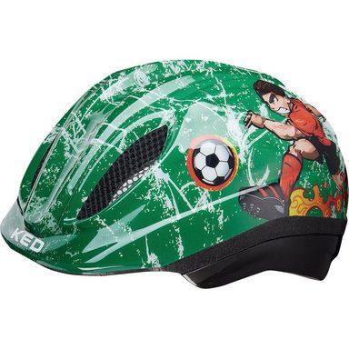 KED Helmsysteme Fahrradhelm Meggy Trend Fußball, grün