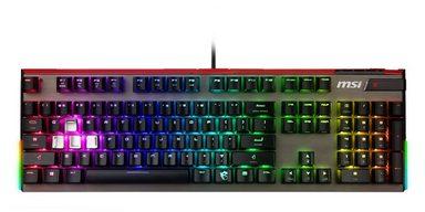 MSI GK80 CS DE Silver »VIGOR Gaming Tastatur«