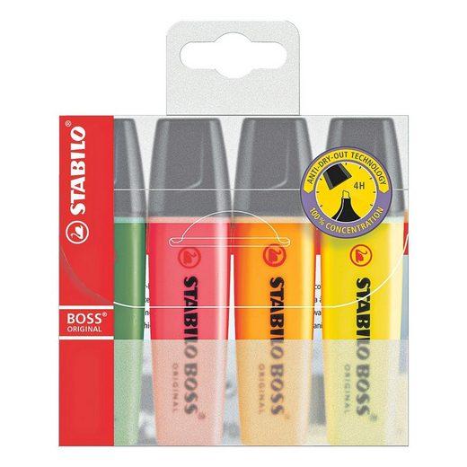 STABILO 4er-Pack Textmarker »BOSS® Original«