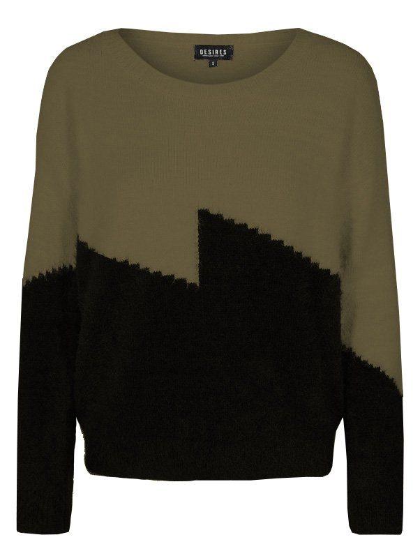 DESIRES Pullover in zweifarbigem Design kaufen | OTTO