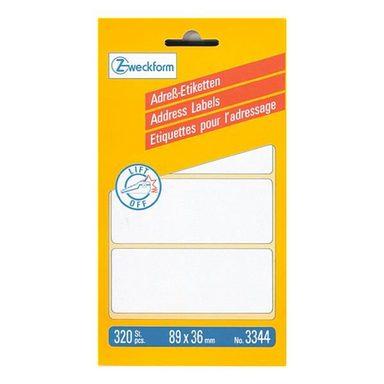 ZWECKFORMAVERY 320er-Pack Adressaufkleber »3344«