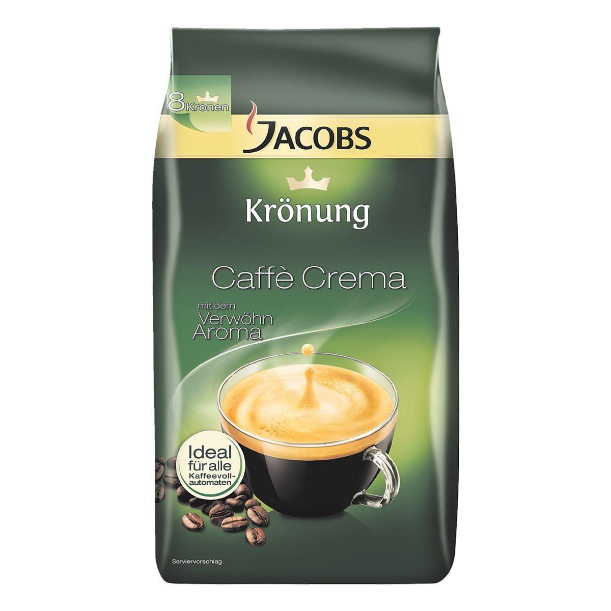 Jacobs Kaffee - ganze Bohnen »Krönung Caffè Crema«