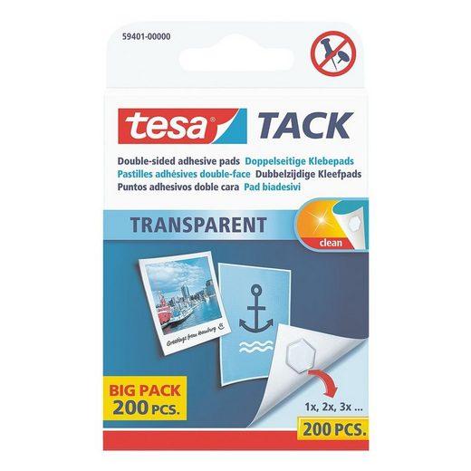Tesa Doppelseitige Klebepads 59401 »Big Pack«