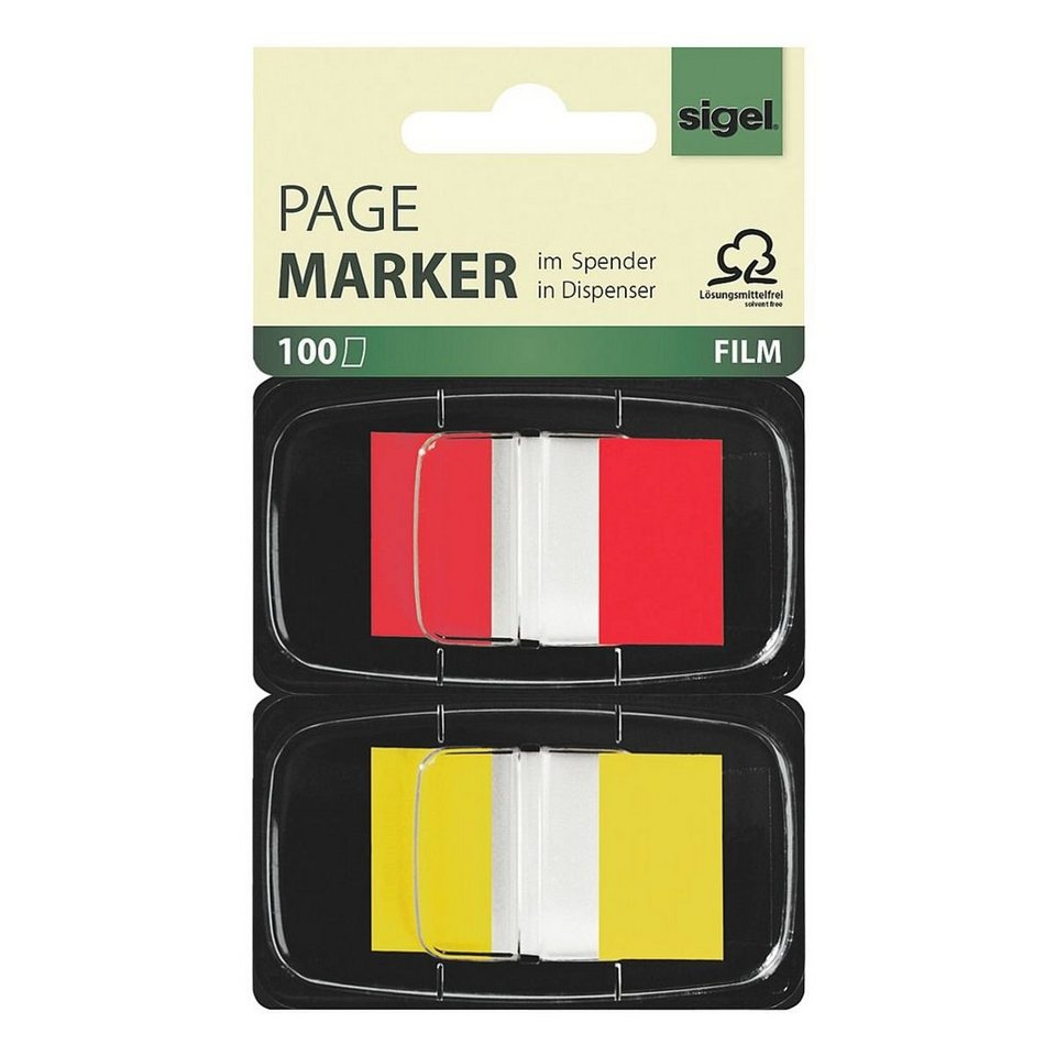 Sigel 2er-Pack Haftmarker »Z-Marker«