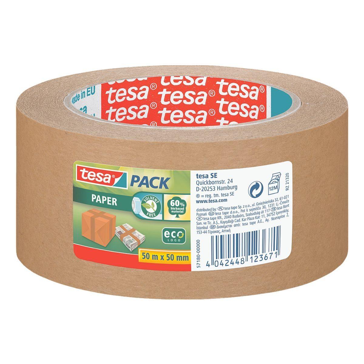 Tesa Papierpackband »ecoLogo«