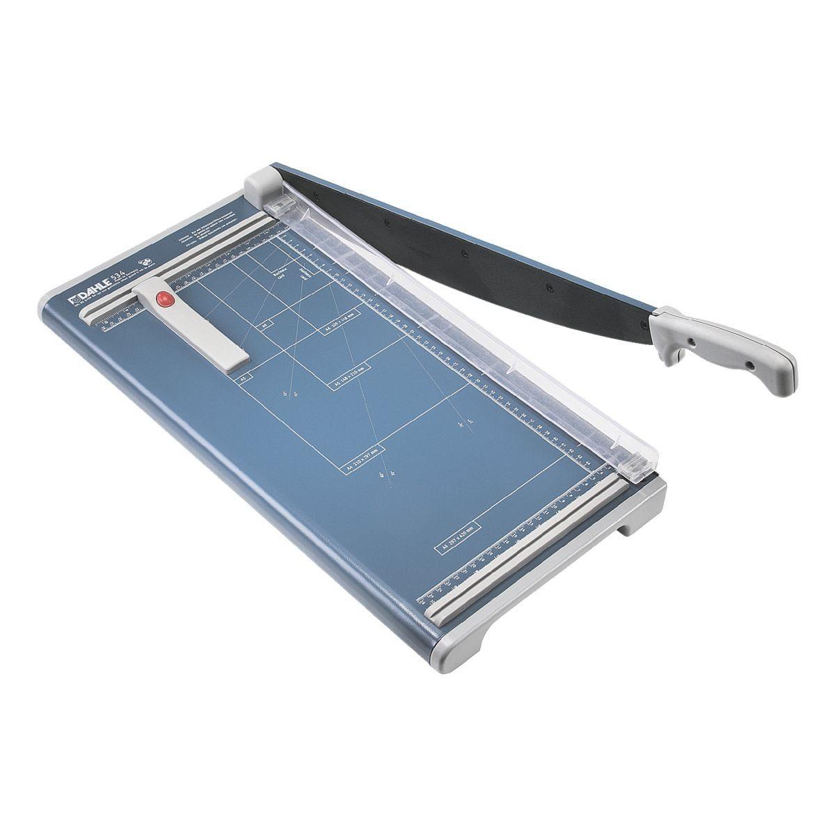 DAHLE® Hebel-Schneidemaschine 534 blau 460 mm 15 Blatt