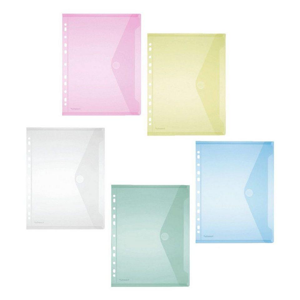 Foldersys Umlaufhüllen in farbig sortiert