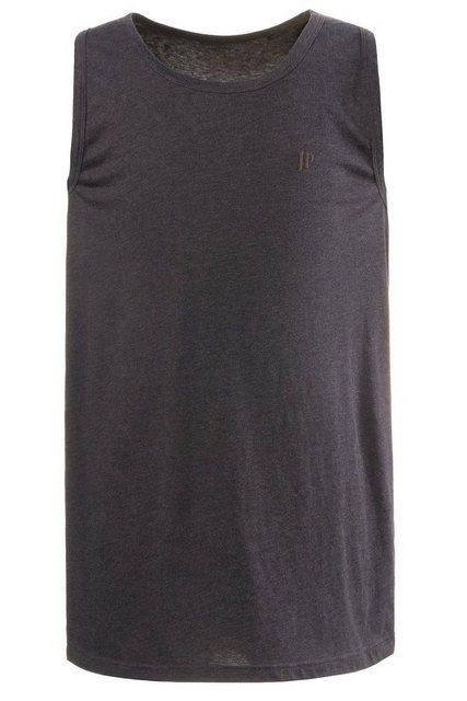 jp1880 -  Tanktop bis 8 XL, Basic Unterhemd aus reiner Baumwolle, Rundhals
