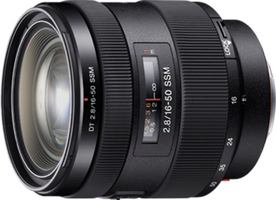 Sony Objektiv »SAL1650 16-50 mm F2,8 SSM Zoomobjektiv«