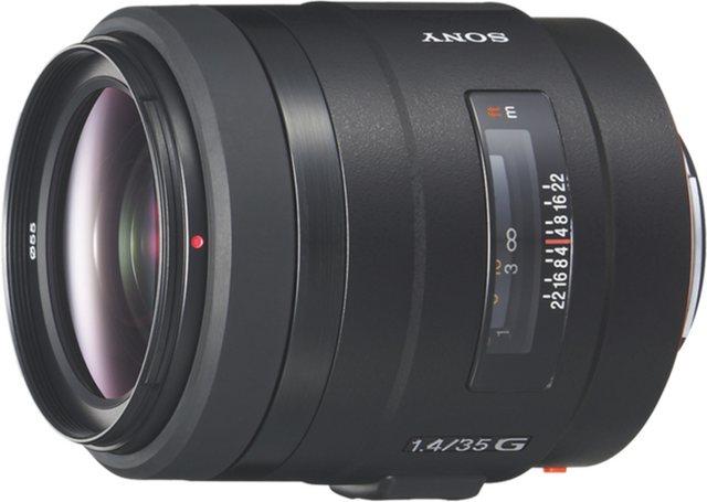 Objektive - Sony Objektiv »Vollformat Objektiv 35 mm Festbrennweite F1.4 G«  - Onlineshop OTTO