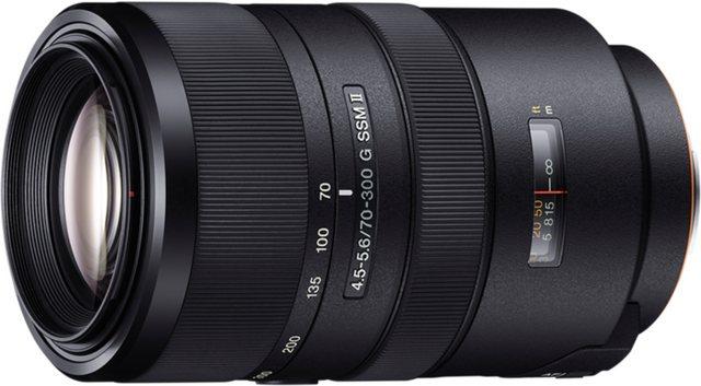 Objektive - Sony Objektiv »Vollformat Zoomobjektiv 70 300 mm F4.5«  - Onlineshop OTTO