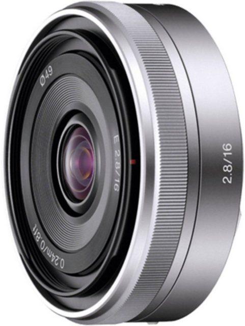 Objektive - Sony Objektiv »16mm F2.8 E Mount APS C«  - Onlineshop OTTO