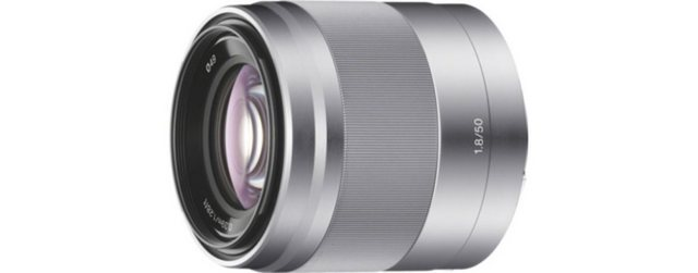 Objektive - Sony Objektiv »E Mount APS C Festbrennweite 50mm F1.8«  - Onlineshop OTTO