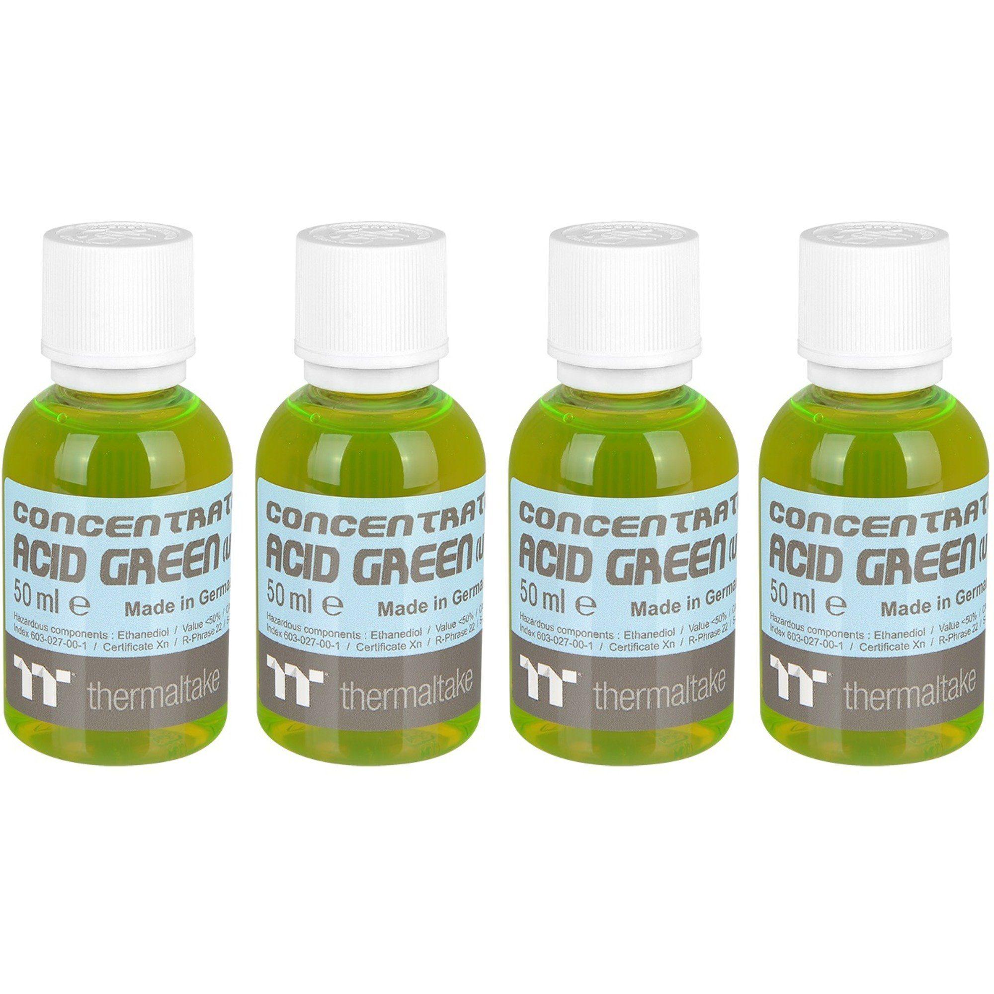 Thermaltake Kühlmittel »Premium Concentrate - Acid Green (4 Bottle Pack)«