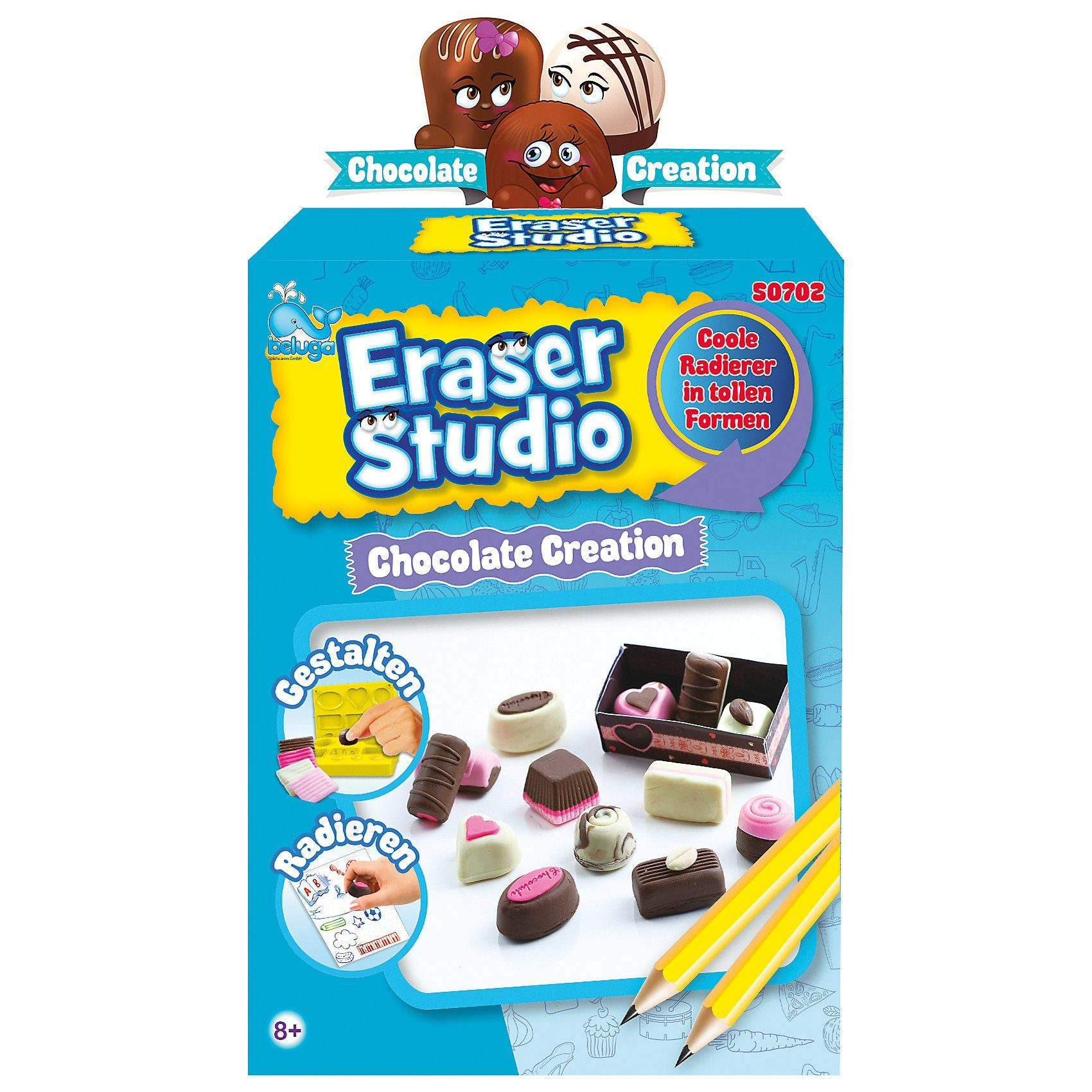 "Beluga Eraser Studio ""Schokolade"""