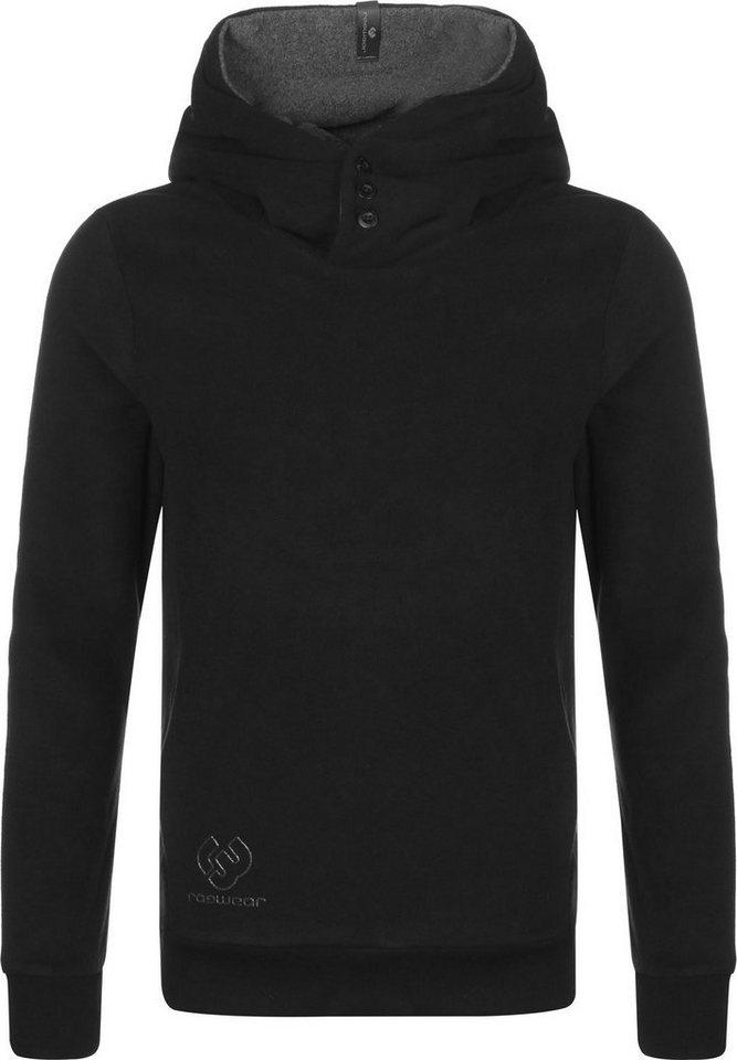 Herren Ragwear Kapuzensweatshirt schwarz   04251490173026