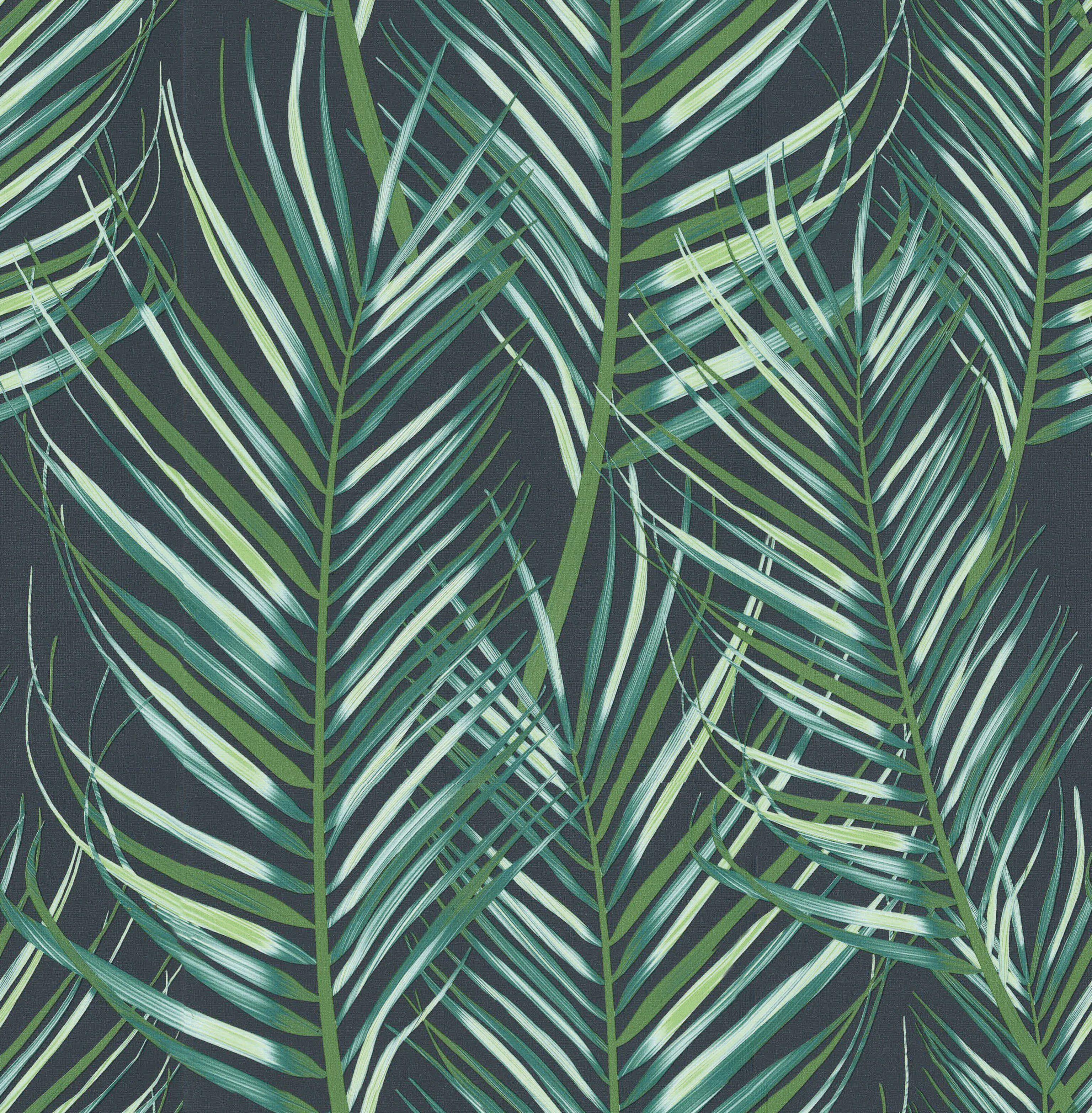 GRAHAM & BROWN Vliestapete »Palmen«, 1000 cm Länge