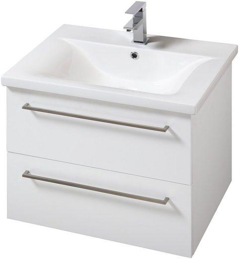 SCHILDMEYER Waschplatz-Set »Torino«, Waschtisch, Breite 60 cm, 2-tlg.