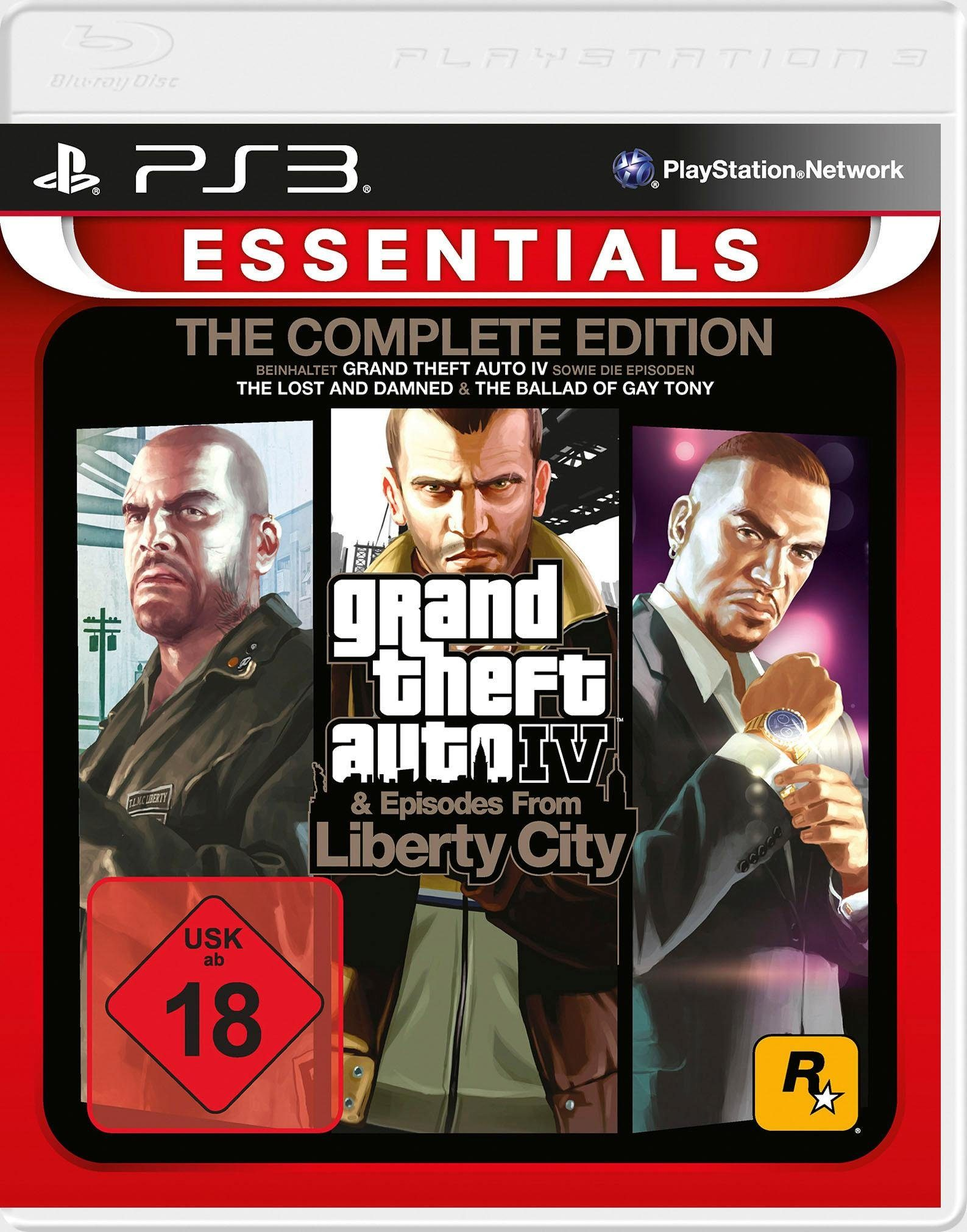 Grand Theft Auto IV - The Complete Edition PlayStation 3