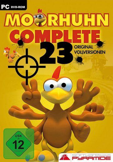 Moorhuhn Complete - 23 Vollversionen PC, Software Pyramide
