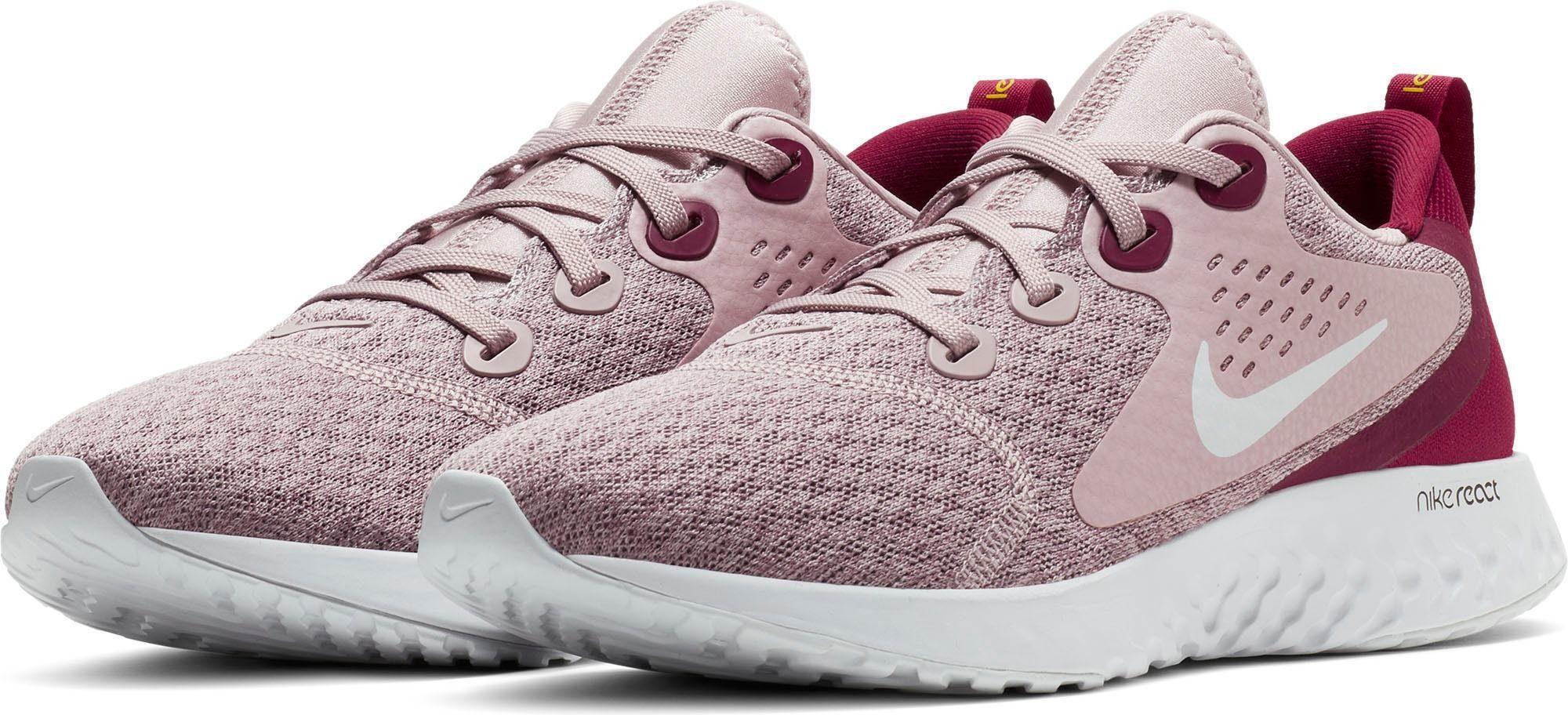 Nike »Wmns Legend React« Laufschuh, Das speziell entwickelte Mesh bietet Belüftung und Halt an den entscheidenden Stellen online kaufen | OTTO