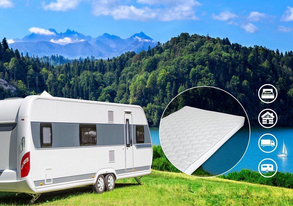 komfortschaummatratze matratze caravan di quattro 10 cm hoch raumgewicht 28 besonders. Black Bedroom Furniture Sets. Home Design Ideas