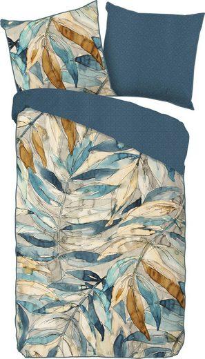 Wendebettwäsche »Aida«, Descanso, mit Blättern