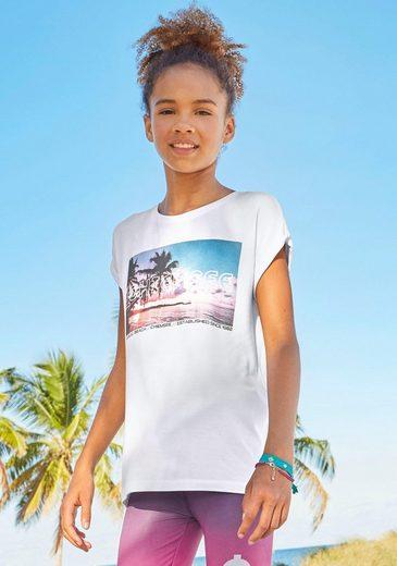Chiemsee T-Shirt mit sommerlichem Fotodruck.