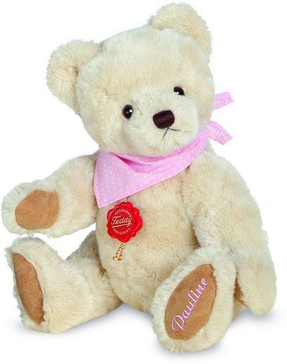 Teddy Hermann® Kuscheltier »Pauline, 28 cm«, mit rosa Halstuch und individueller Bestickung, Made in Germany