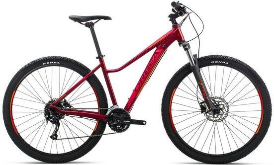 Orbea Mountainbike »MX ENT 40 - 27,5 / 29 Zoll«, 27 Gang Shimano Altus M2000 Schaltwerk, Kettenschaltung
