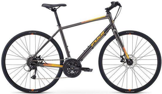 FUJI Bikes Fitnessbike »ABSOLUTE 1.7 DISC«, 27 Gang Shimano Acera Schaltwerk, Kettenschaltung