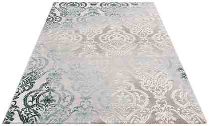 Teppich »Bahar«, merinos, rechteckig, Höhe 12 mm, Vintage, Hoch-Tief-Effekt