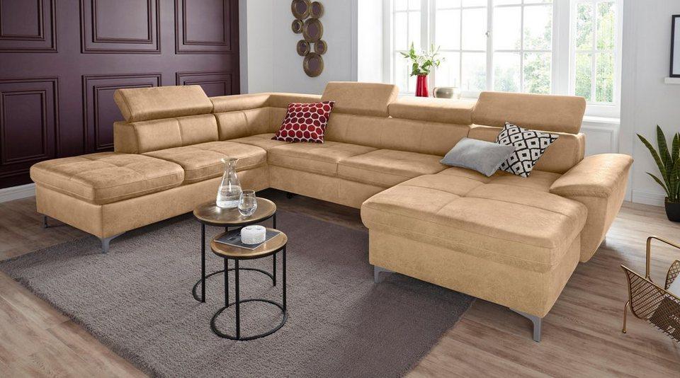 exxpo - sofa fashion Wohnlandschaft, wahlweise mit ...