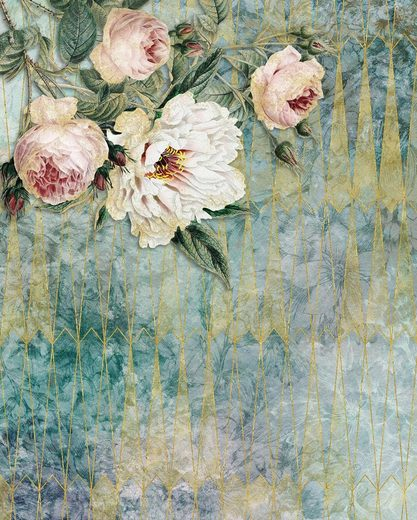 Vliestapete »Pure La Rosa«, naturalistisch