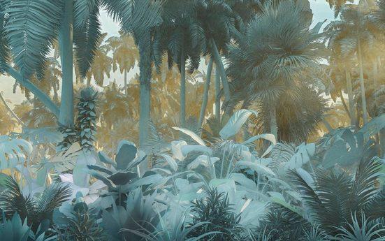 Vliestapete »Pure Misty Jungle«, naturalistisch