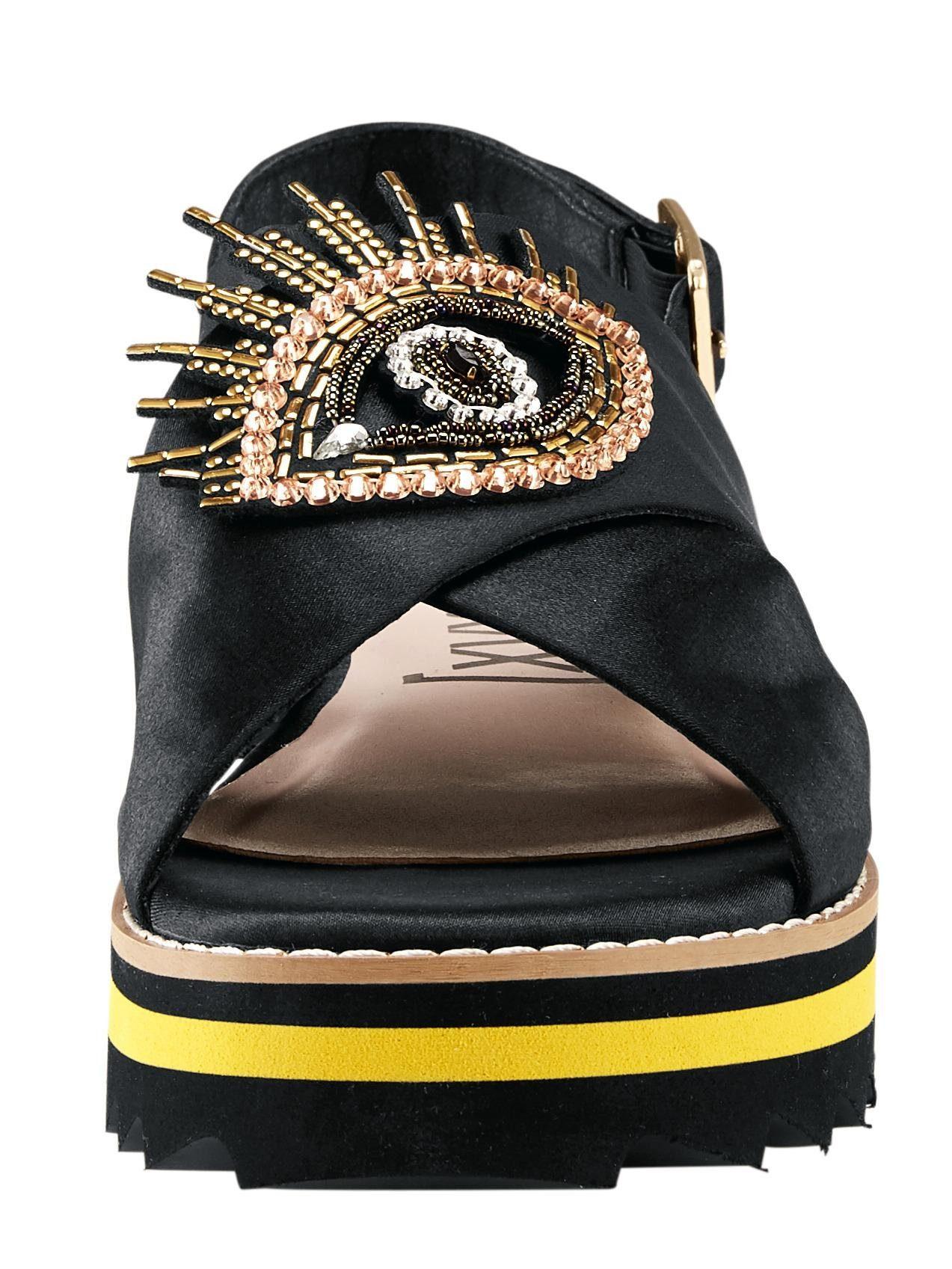 XYXYX Sandalette aus Satin
