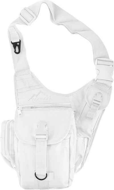 normani Schultertasche »Schulter-Umhängetasche SlingFit«, Multifunktions Schultertasche Umhängetasche Brusttasche Sling Bag Crossbody Rucksack